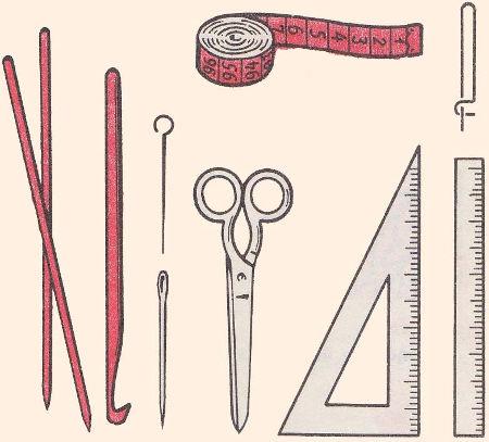 Вязание крючком материалы и инструменты для вязания 109