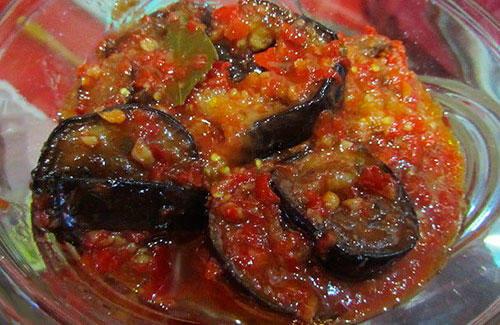Тёщин язык из баклажанов рецепт пошагово с