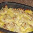 Как приготовить запеченные куриные крылышки в духовке с картошкой