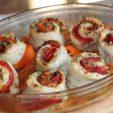 Как приготовить рулеты из тилапии с красным сладким перцем, запеченные под грилем